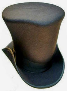 4f000051db1 Felt hat worn by the mad hatter