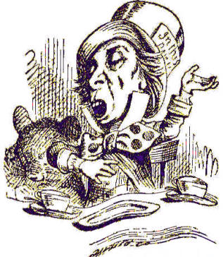0e8cb88ad1d The crazy Mad Hatter of Lewis Carroll s Alice in Wonderland